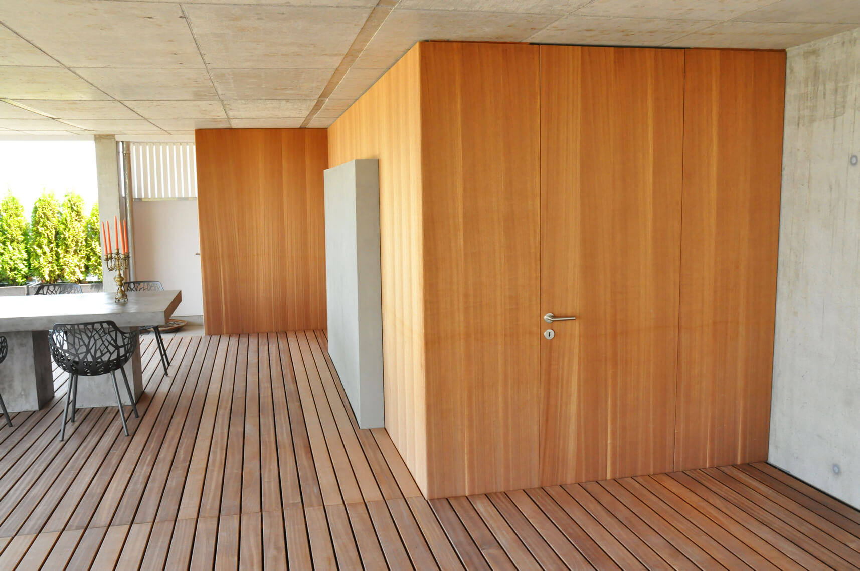 referenz terrassen gestalten parc 39 s. Black Bedroom Furniture Sets. Home Design Ideas