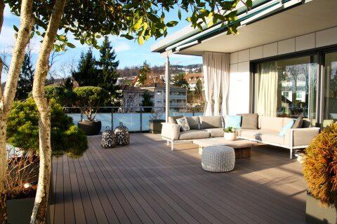 Terrasse und Terrassengestaltung Zürcher Oberland Lounge