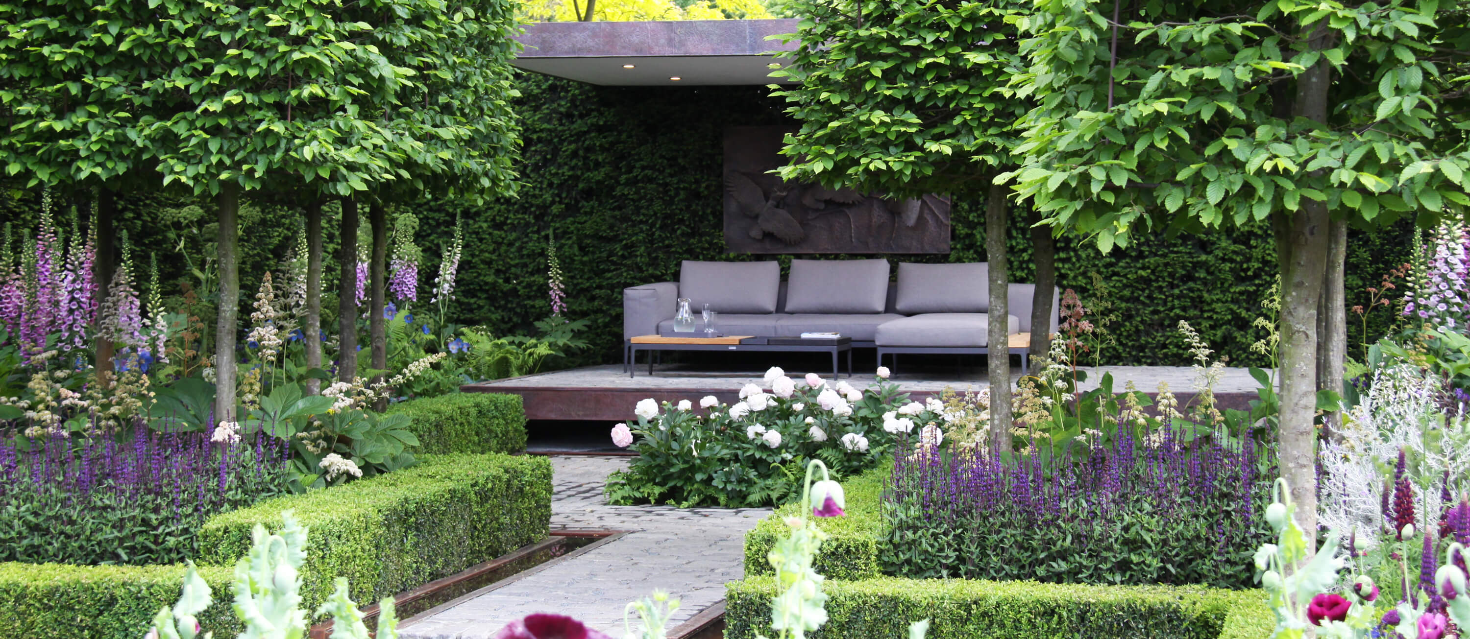 garten inspiration an der chelsea flower show london. Black Bedroom Furniture Sets. Home Design Ideas