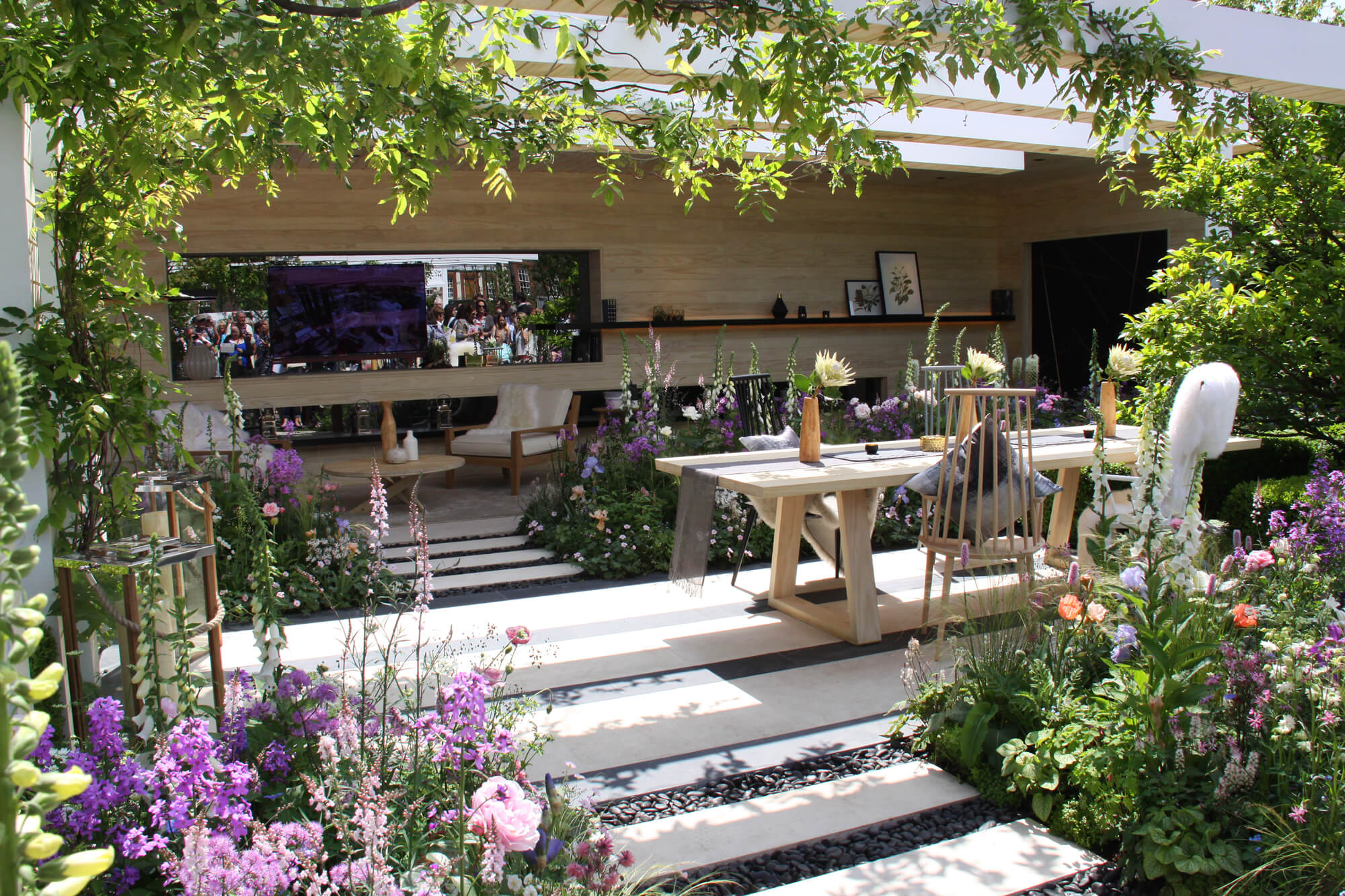 Garten inspiration an der chelsea flower show london for Vorgarten inspirationen