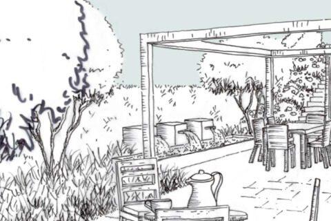 Gartenumgestaltung Visualisierung