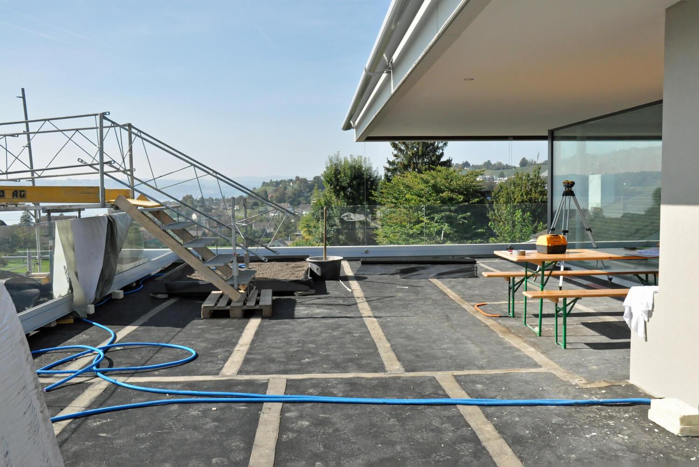 so entsteht eine terrasse parc 39 s gartengestaltung gartendesign. Black Bedroom Furniture Sets. Home Design Ideas