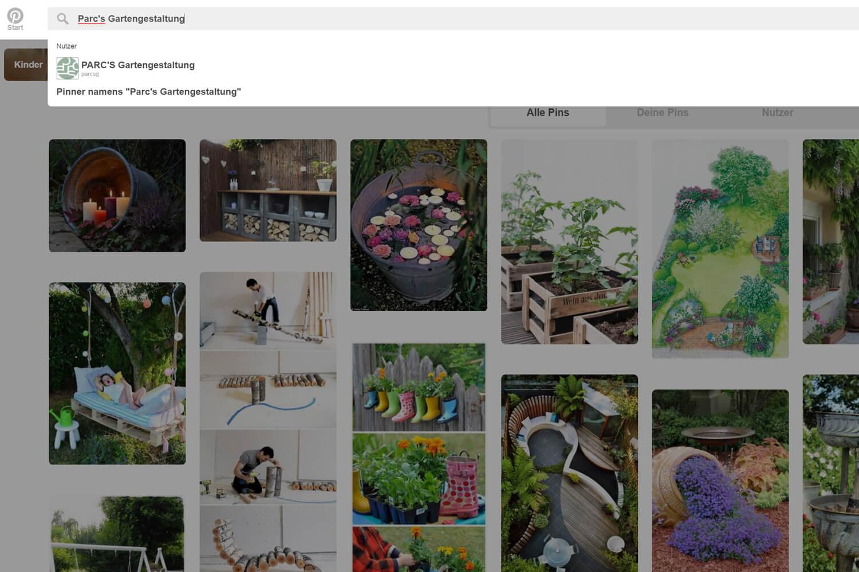 Gartenideen sammeln mit pinterest eine anleitung for Pinterest gartenideen