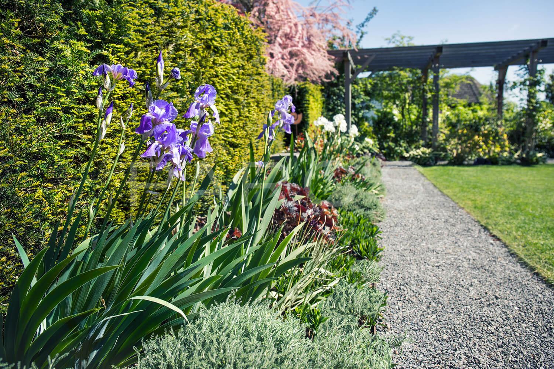 gartengestaltung mit brunnen - parc's gartengestaltung, Garten ideen