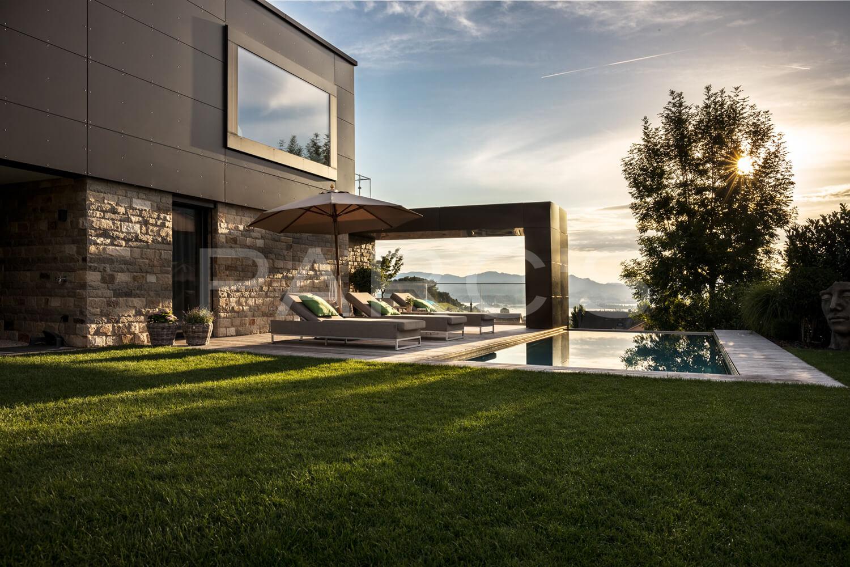 Moderne Gartengestaltung Zürich Swimming Pool 1