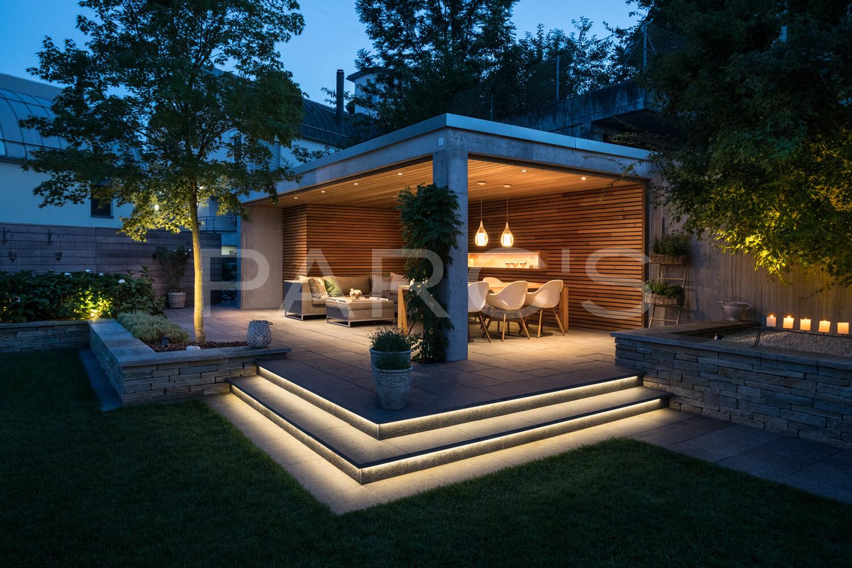 Gartenbeleuchtung Lichtplanung Lichtkonzept