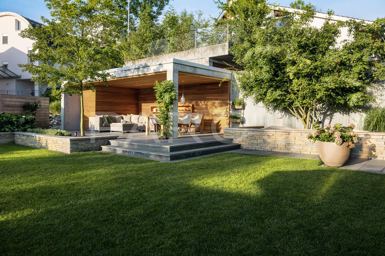 Moderne Gartengestaltung Zürich Swimming Pool 4