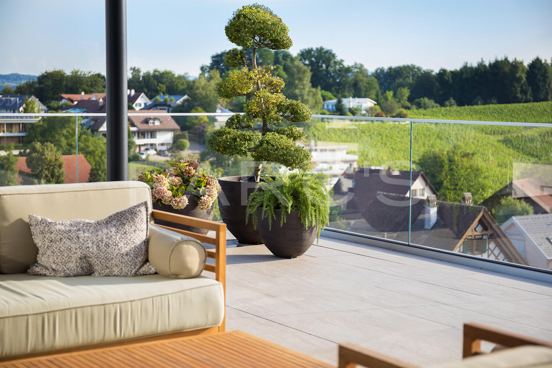 Moderne Und Pflegeleichte Terrassengestaltung Parc S Gmbh