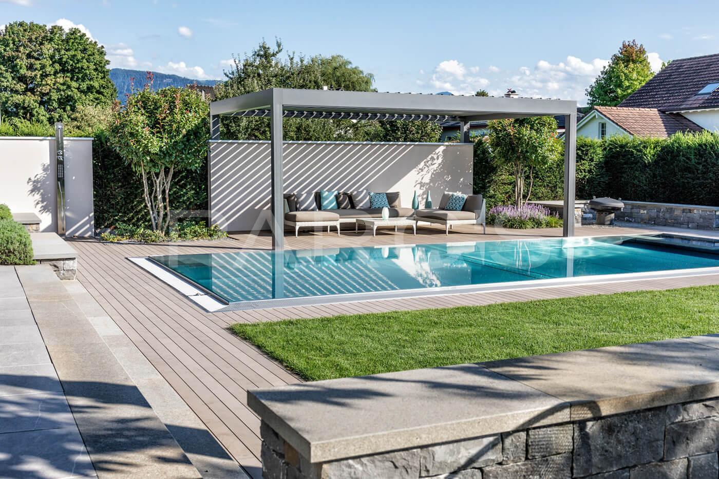 Wohnlicher Garten Mit Pool 9